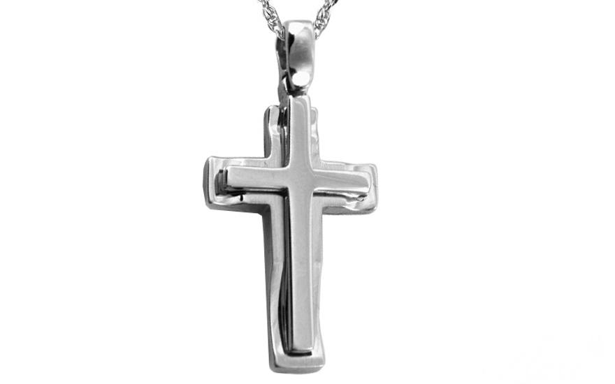 Zlatý klasický křížek IZ8715A