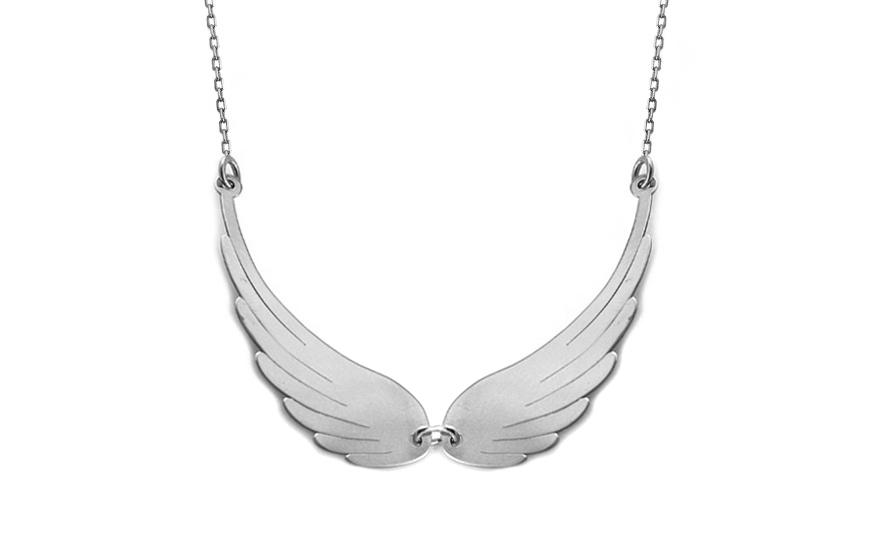 Zlatý náhrdelník andělská křídla Celebrity CS9CE001A