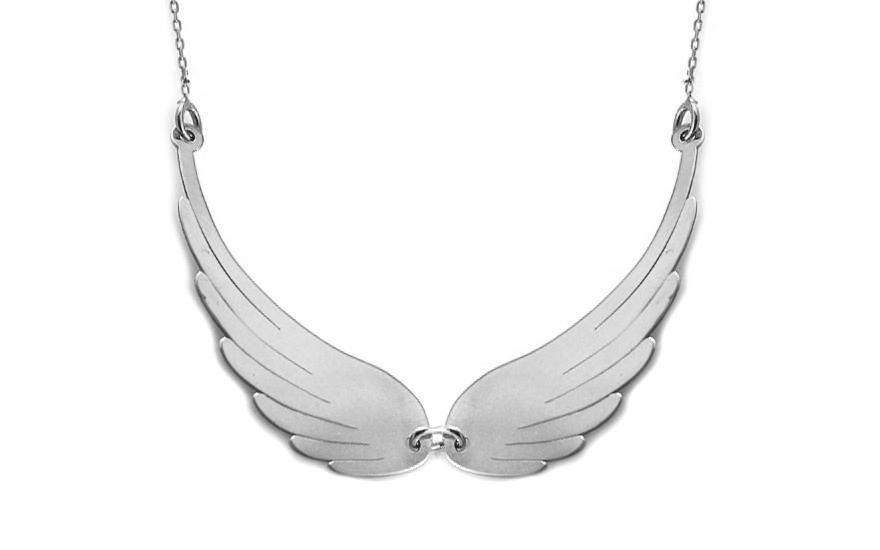 Zlatý náhrdelník andělská křídla velká Celebrity CS9CE007A