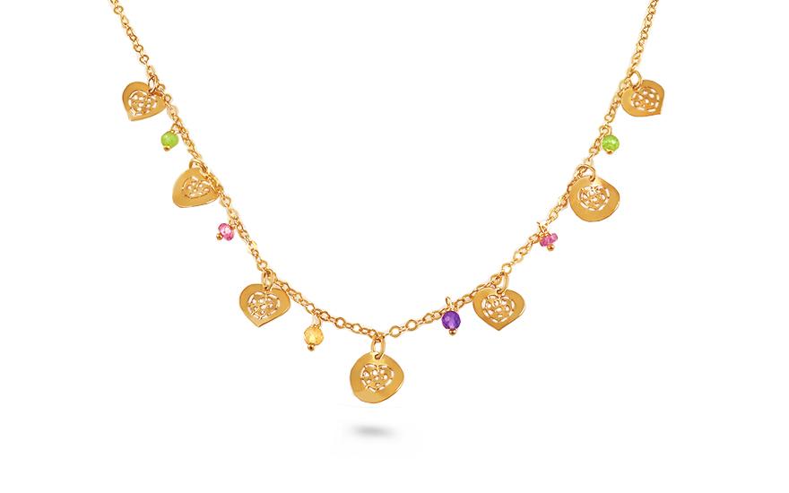 Zlatý náhrdelník Careen IZ9067
