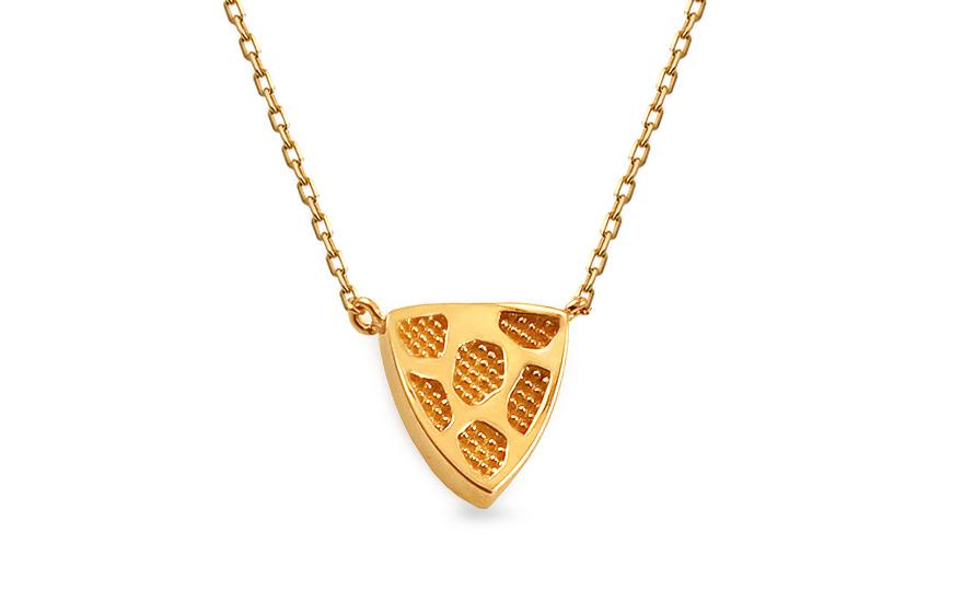 Zlatý náhrdelník Corliss IZ13196R