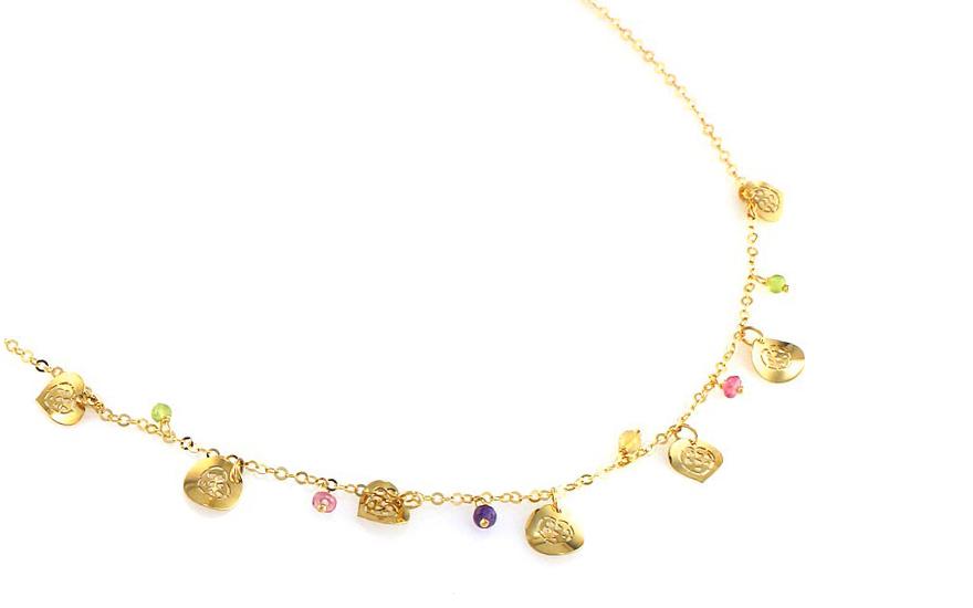Zlatý náhrdelník Emerie IZ8645