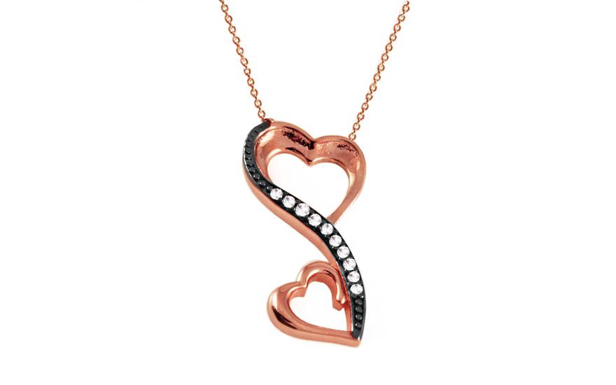 Zlatý náhrdelník Hearts IZ9575