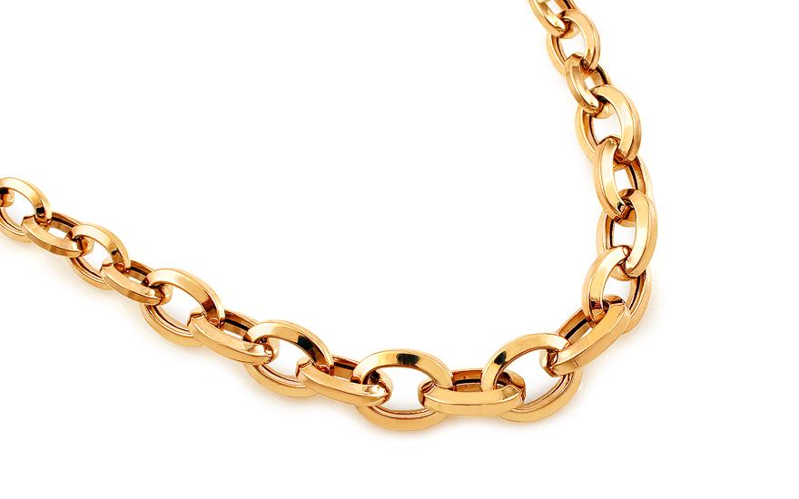 Zlatý náhrdelník Jazmin IZ12324