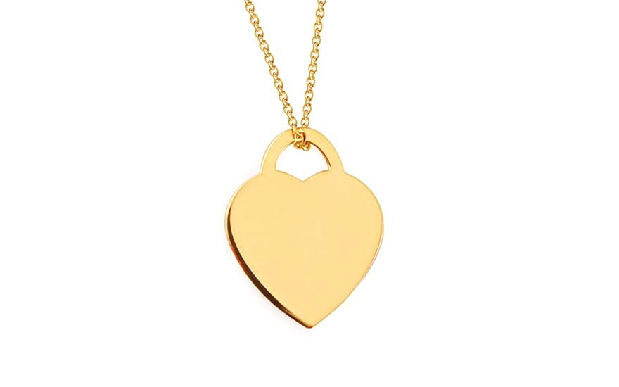 Zlatý náhrdelník kladka Celebrity IZ8185