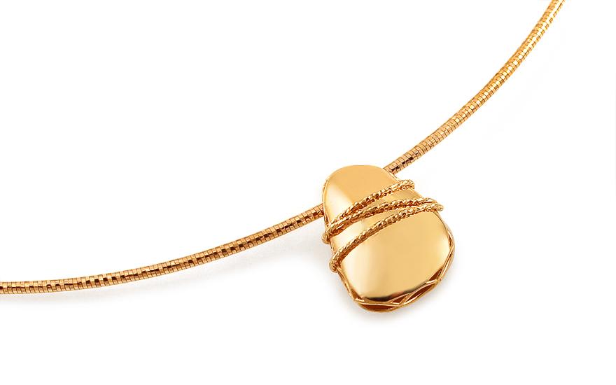 Zlatý náhrdelník Loncia IZ12754R