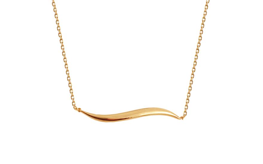 Zlatý náhrdelník Nylah 9IZ097