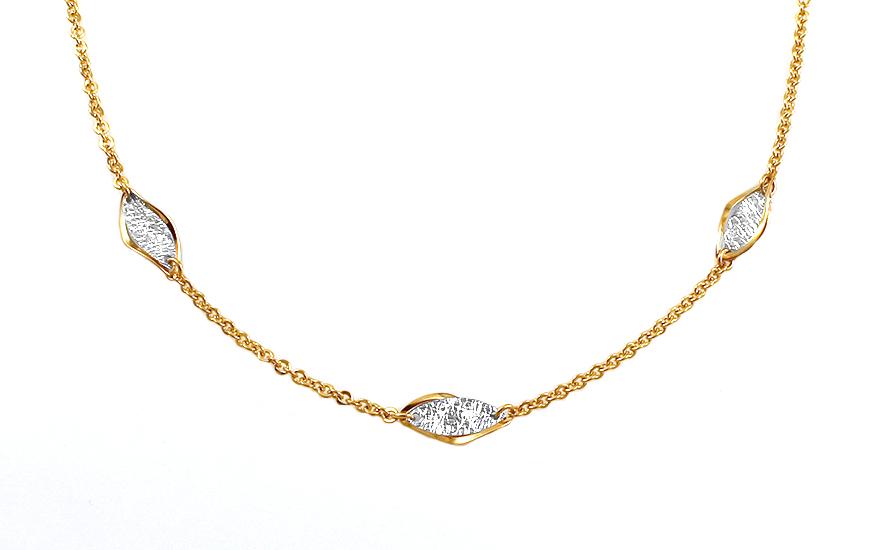 Zlatý náhrdelník Special letter IZ7789