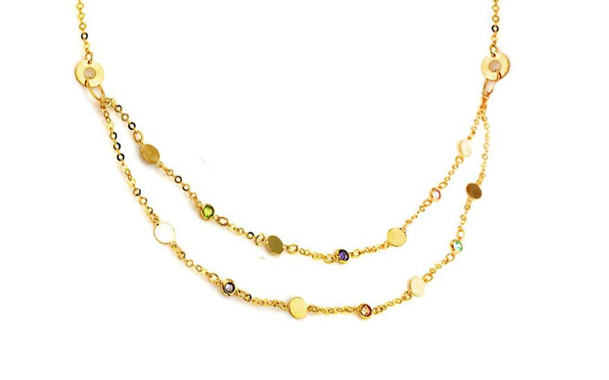Zlatý náhrdelník Tezie IZ8998