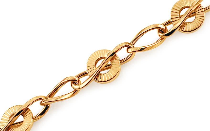 Zlatý náramek Valery IZ11426