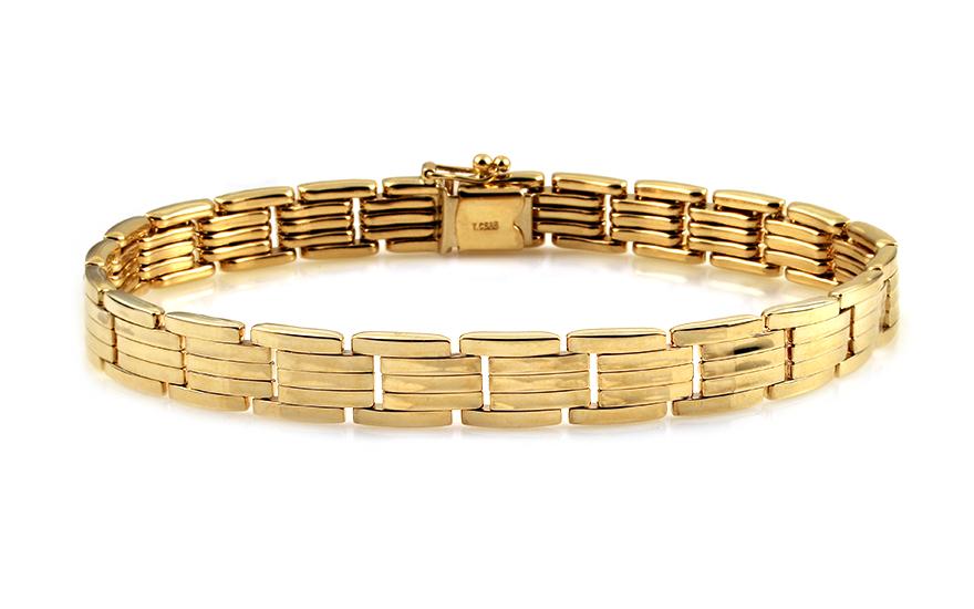 Zlatý pánský náramek IZ11134