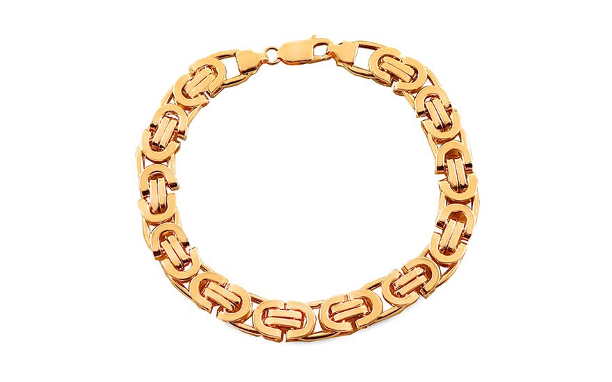 6526dc898 Zlatý pánský náramek, pro muže (IZ18627N) | iZlato24.cz