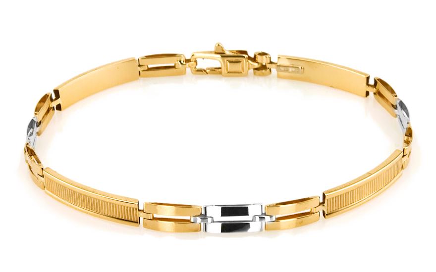 Zlatý pánský náramek KEVIN 9 IZ5434