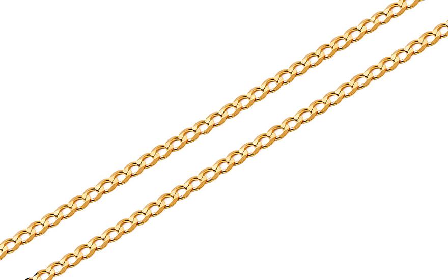 Zlatý plný řetízek Pancíř 1,9 mm IZ2331