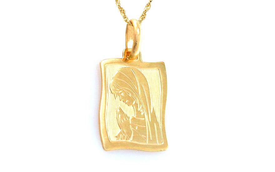 Zlatý přívěsek Panna Marie IZ8652