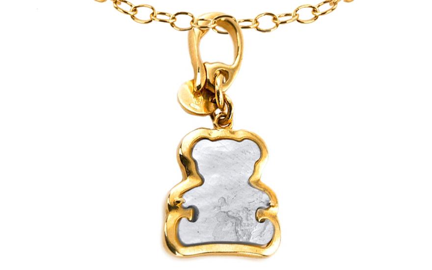 Zlatý přívěsek Teddy Bear IZ7422