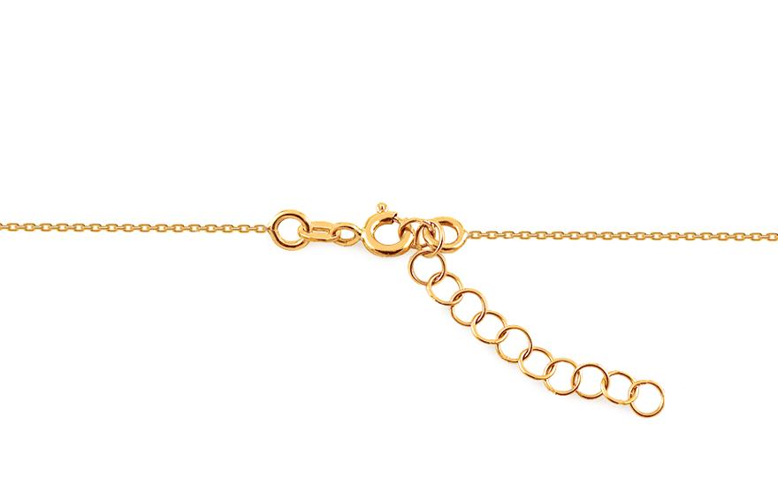 Zlatý řetízek se jménem Klaudia IZ10962